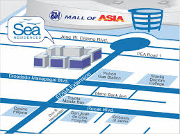 Moa Map Sea Residences U2013 Rfo Condominium Of Sm Residences At Sm Mall Of