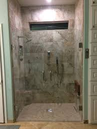 high tech level entry shower with a modern design vim products inc