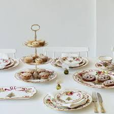 country roses tea set royal albert country roses christmas teacup and saucer royal