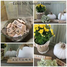 easy fall decorating love my simple home