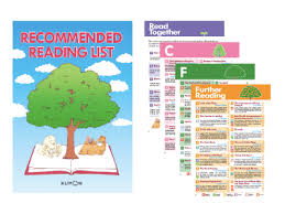 the kumon english recommended reading list