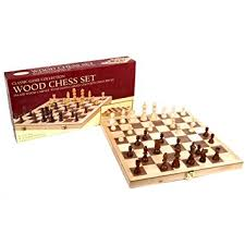 Chess Set Amazon Amazon Com Classic Game Collection Wood Chess Set Toys U0026 Games