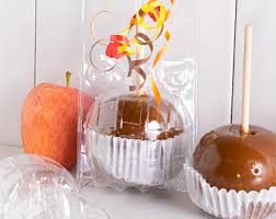 caramel apple boxes wholesale candy apple boxes etsy