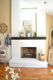 15 gorgeous painted brick fireplaces hgtvs decorating design with