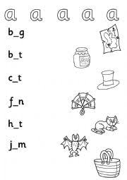 english worksheets cvc worksheets page 6