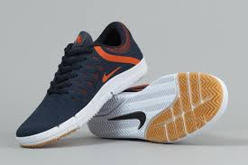 nike sb free obsidian orange sneaker bar detroit