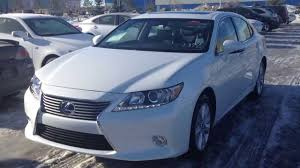 lexus es300h 0 60 2014 lexus es 300h in white starfire pearl premium package review
