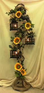 sunflower wedding ideas floor 39 sunflower decorations sunflower decorations burlap