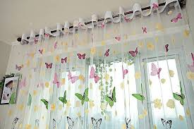 Window Sheer Curtains Dolce Mela Sheer Curtain Panel 60 X 100 Inch Window