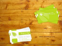 business card psd template by metamag on deviantart