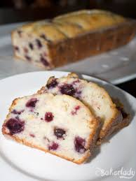 double glazed lemon blueberry pound cake u2013 bakerlady