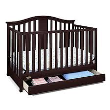 Espresso Convertible Cribs Graco Solano 4 In 1 Convertible Crib With Drawer Espresso