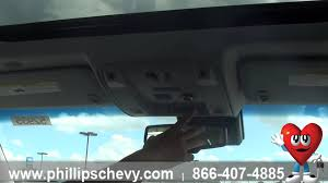 Syncing Garage Door Opener With Car by Phillips Chevrolet 2015 Chevy Tahoe Ltz Homelink Chicago New