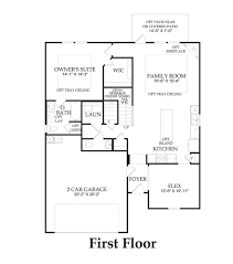 mallory new home plan killeen tx centex home builders mallory