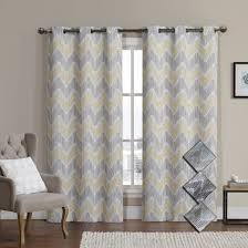 Seafoam Green Window Curtains by Marlie Intelligent Design Blackout Weave Grommet Curtain Panels