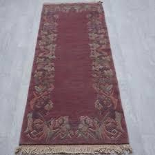 galerie teppich nepal tibet teppich läufer feine tibeter galerie 81x190 rosenholz