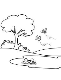 La nature en coloriage  Paysage  Page 2