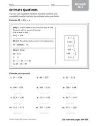 estimating quotients worksheet free worksheets library download