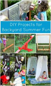 Kids Backyard Fun Summer Diy Projects For Backyard Fun Fantastic Fun U0026 Learning