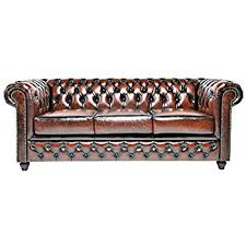 Discount Chesterfield Sofa Original Chesterfield Sofa 3 Seater Real