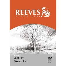reeves a2 artist sketch pad 30 sheet officeworks