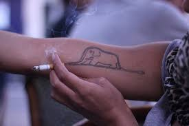 petit prince elephant hat tattoo forearm google search tattoo