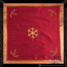 Pentacle Rug Altar Cloths U2014 Rain U0027s Obsessive Stitchery