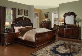 bedroom sets with leather headboards home design ideas and pictures