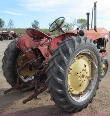 1956 massey harris 444 tractor item a8462 sold wednesda