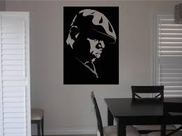 scarface home decor amazon com biggie smalls notorious b i g style 4 wall decal