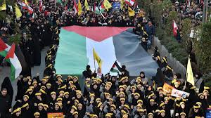 Hezbollah Flag Hizbollah Rally Against Trump Decision Is Largest Yet In Lebanon