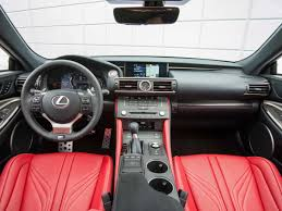 lexus crossover inside lexus rc f review business insider