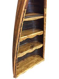 Canoe Bookcase Furniture Vintage Canoe Bookshelf Vintagewinter