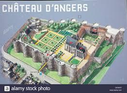 france loire valley angers castle illustration of the castle france loire valley angers castle illustration of the castle layout