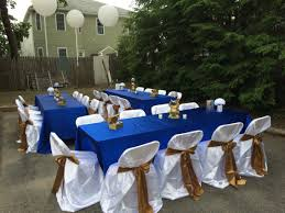 blue and gold decoration ideas appealing simple table decor royal blue gold and white prince baby