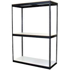 Shelving Home Depot by Storage Concepts 96 In H X 60 In W X 24 In D 3 Shelf Bulk