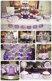 lavender baby shower lavender and gold baby shower baby showers ideas