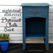 distressed night stand black distressed nightstand bedroom