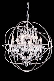 Crystal Chandelier 12 Best Collection Of Globe Crystal Chandelier