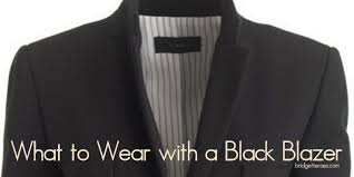 Can You Black With Color What To Wear With A Black Blazer Bridgette Raes Style Expert