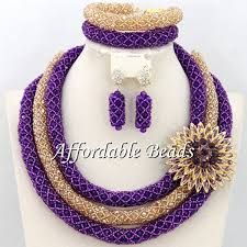 aliexpress necklace set images Buy best sale african beads jewelry set charming jpg