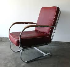 k e m weber american art deco springer armchair manly vintage