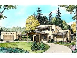 Adobe House Plans Two Story Adobe Home Plan Design 008h 0019 At Adobe House Plans Designs