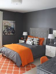 Grey Wall Bedroom Astonishing Contemporary Bedroom In Grey Wall Painting Completed