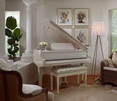 White Bedroom Plants Grand Piano Living Room Living Room Traditional With Indoor Potted