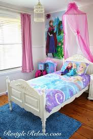 Frozen Canopy Bed Stylish Frozen Canopy Bed Restyle Relove Frozen