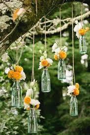 Fall Wedding Aisle Decorations - mason jar candles ido weddings inspiration
