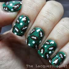holographic football nail art u2022 casual contrast