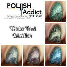 lacqueredmama polish addict nail color winter frost collection