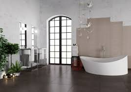 brown tile bathroom paint home design ideas